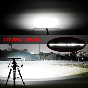 Image 5 - CO ضوء 10D 10 20 30 بوصة 52 واط 104 واط 156 واط LED قضيب مصابيح عملي كومبو 4x4 مصباح ليد للطرق غير الممهدة بار ل جرار قارب 4WD 4x4 الشاحنات ATV