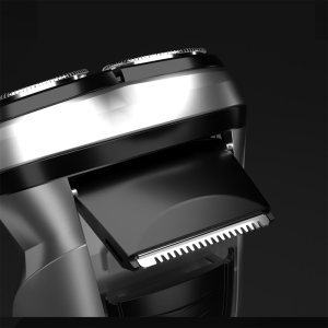 Image 5 - Xiaomi Enchen BlackStone Rechargeable Electric Shaver 3D Triple Floating Blade Heads Shaving Razors Men Beard Trimmer Mach