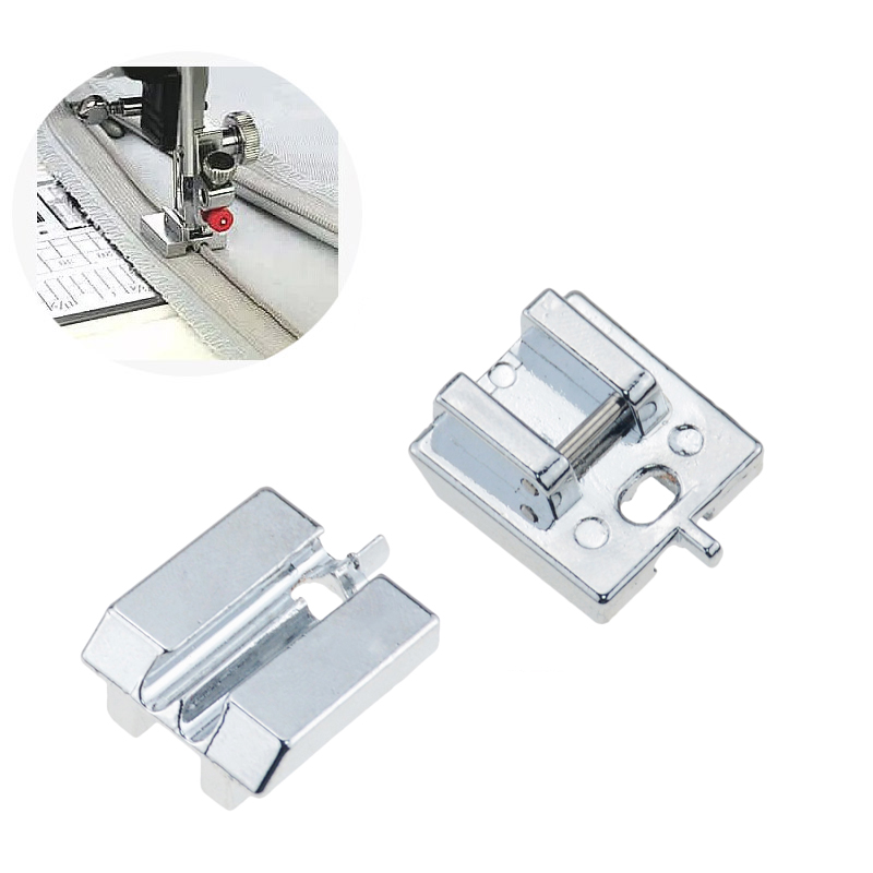 1 PCS Household Sewing Machine Parts Presser Foot Invisible Zipper Foot for brother/ janome etc