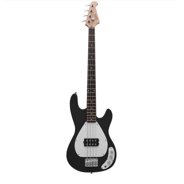 IRIN Electric Guitar 4 String Iron Pewter Electric Bass 2