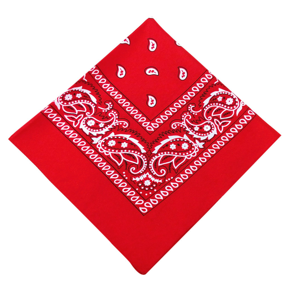 Vintage Square 36pc Pure Cotton New Tie-dyed Headscarf Paisley Scroll Bandanna Tie-dyed Square Neck Scarf Wristband Pocket Towel