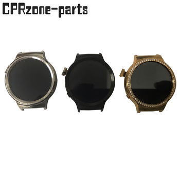 Czarny srebrny + ramka do zegarka Huawei Watch1 1 wyświetlacz LCD 1 Generacji z ekranem dotykowym Digitizer Assembly nie zawiera przycisku tanie i dobre opinie CPRzone-parts CN (pochodzenie) Pojemnościowy ekran 2 quot For watch1 watch 1 1st Gen lcd LCD i ekran dotykowy Digitizer