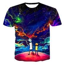 Among Us Summer Men's T-shirt Short Sleeve O-Neck Scientist and Nephew Starry Sky Print Tshirt Manga Cartoons Casual Tees Tops