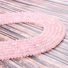 Natural Pink Crystal Gem 5x8x4x6MM Abacus Bead Spacer Bead Wheel Bead Accessory For Jewelry Making Diy Bracelet Necklace