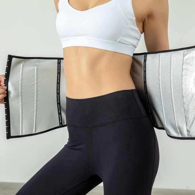Women Waist Trainer Slimming Belt Corsets Weight Loss Running Fitness Sweat Trimmer Back Support Band Underwear Body Shaper 1