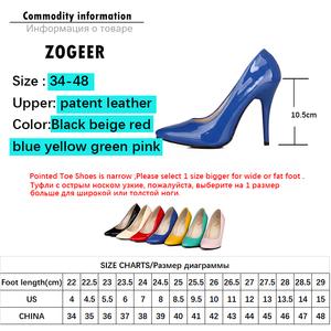 Image 5 - Zapatos de plataforma de mujer de tacón alto a la moda, zapatos de mujer verdes, Nude, rojos y azules, zapatos de fiesta, zapatos de oficina boda, mujer, talla grande 44 47