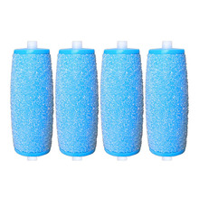 4pcs Mineral Pedicure Grinding Head Rechargeable Replacement Roller Head Tool