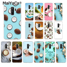 MaiYaCa summer cool coconut Colorful Cute Phone Accessories Case for Samsung S9 Plus S8 S8plus S7 S6 S5 Cover