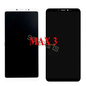 Image 3 - Voor Xiaomi Mi Max 3 Lcd Touch Screen Digitizer Vergadering Voor Xiaomi Mi Max 2 Lcd Max3 Screen Vervanging zwart Wit