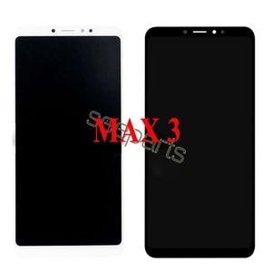 Image 3 - Voor Xiaomi Mi Max 3 Lcd Touch Screen Digitizer Vergadering Voor Xiaomi Mi Max 2 Lcd Max3 Screen Vervanging zwart Wit