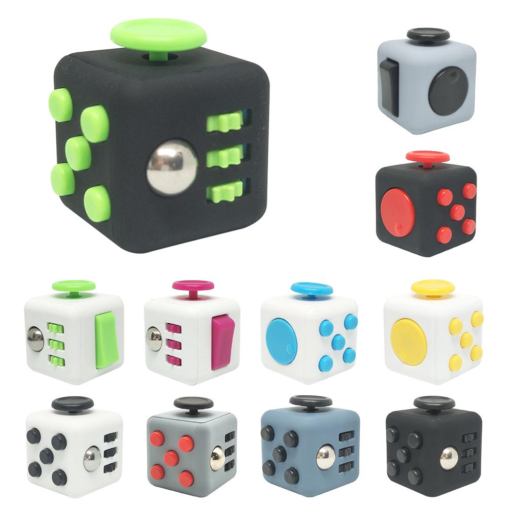 Toy Decompression-Cube Fidget Reduce-Anxiety-Stress Adults For Children's-Strange Innovative