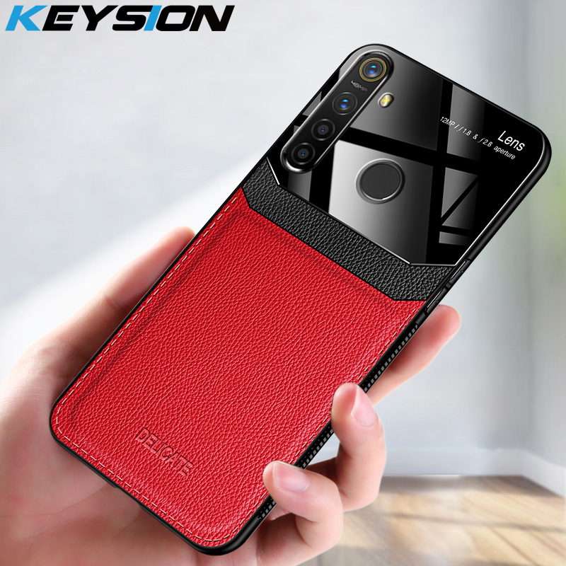 KEYSION Leather <font><b>Case</b></font> for <font><b>Samsung</b></font> Galaxy M31 Lens <font><b>Glass</b></font> Shockproof Phone Back Cover For <font><b>Samsung</b></font> M31 <font><b>M30S</b></font> M40S M60S M80S M10 image