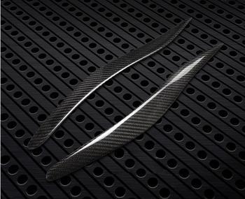 100% ด้านหลังคาร์บอนไฟเบอร์ไฟหน้าคิ้วคิ้วตาสำหรับ Lexus IS IS250 IS300 IS350 ไฟหน้าคิ้ว Trim อุปกรณ์เสริม