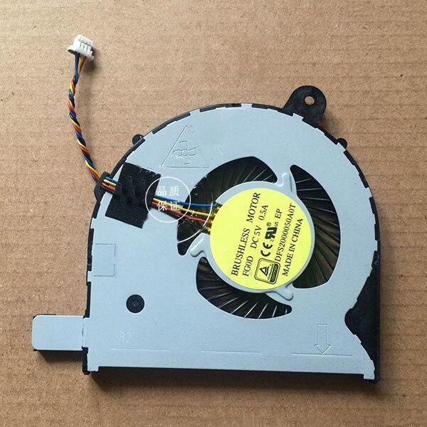 Новый оригинальный охлаждающий вентилятор для процессора Acer Aspire V3 371 V3 371G охлаждающий вентилятор для ноутбука DFS2000050A0T FG0D DC 5V 0.5A