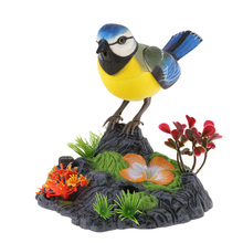 Chirping Dancing Bird with Motion Sensor Activation, Singing Chirping Birds Toy
