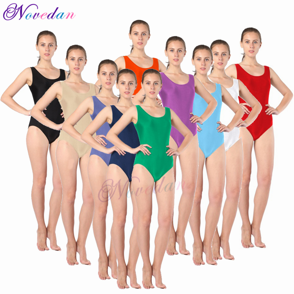 Sexy Green Grey Black White Nude Ballet Leotard For Women Adult High Cut Shiny Metallic Dance Leotard Rhythmic Gymnastic Leotard