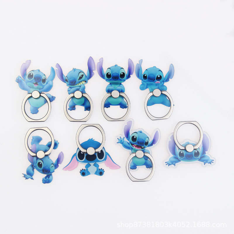 360 Degree Rotatable Magnetic Cute Cartoon Smartphone Stand Stand Ring Support 1 High Quality Universal Finger Ring Stand