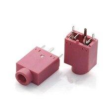10 шт. 3,5 мм Женский аудио разъем 5 булавки DIP разъем для наушников Разъем PJ-358 PJ358