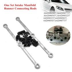 Coletor de entrada de ar do carro bielas reparação kit para mercedes om642 v6 3.0 cdi 6420905037 a6420907737