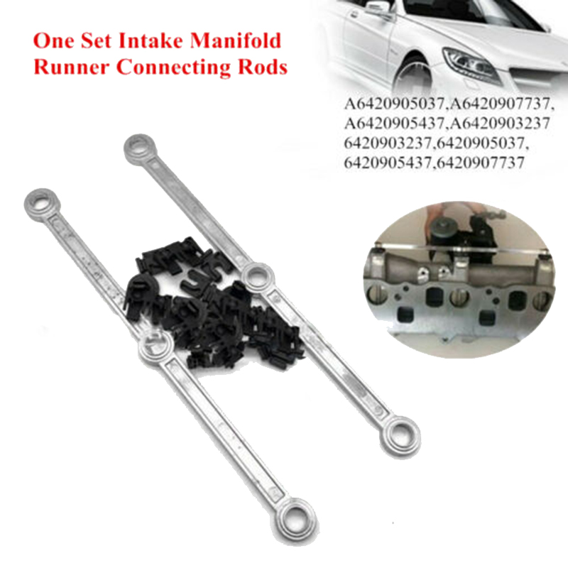 Car Air Intake Inlet Manifold Connecting Rods Repair Kit for Mercedes <font><b>OM642</b></font> V6 3.0 CDI 6420905037 A6420907737 image