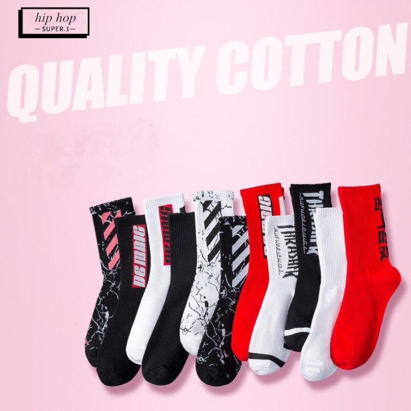 Fashion Strearwear Women hip hop   Socks   Cotton Skateboard Funny   Socks   Winter Autumn Gifts for Women meias EUR 36-43 59