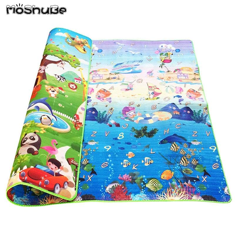 Baby Crawling Puzzle Play Mat Blue Ocean Playmat EVA Foam Kids Gift Toy Children Carpet Outdoor Innrech Market.com