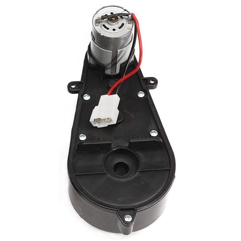 2 Pcs 550 Universal Kinder Elektrische Auto Getriebe Mit Motor 12Vdc Motor Mit Getriebe, kinder Fahrt Auf Auto Baby Auto Teile