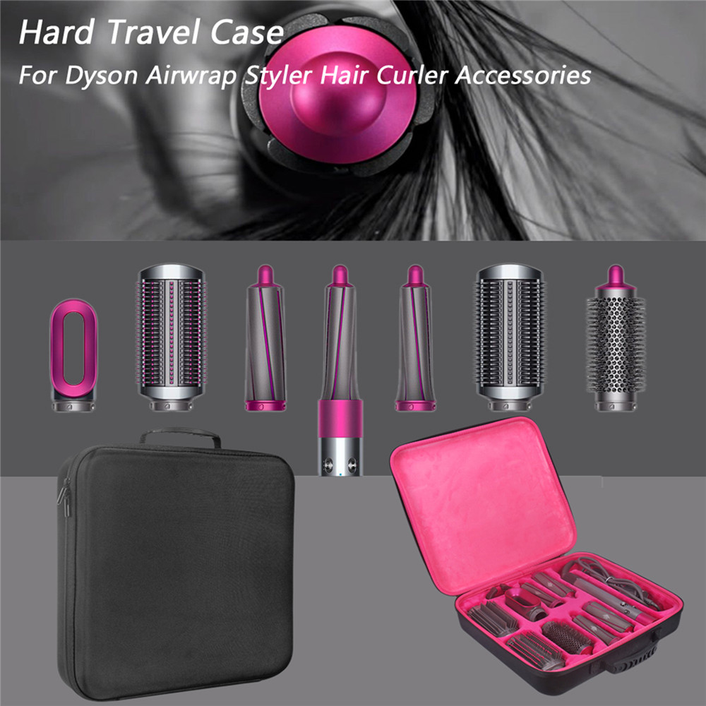 Portable Hair Dryer Curling Stick Storage Bag Large Capacity Pouch Storage Box For Dyson Airwrap Complete Hair Curler