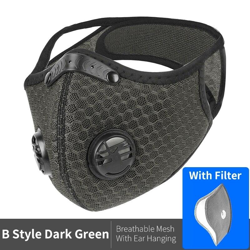 B Style Mesh Green