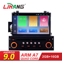 LJHANG Car DVD Player Android 9.0 for Citroen C5 2005 2012 GPS WIFI Multimedia 1 Din Car Radio Stereo Auto Headunit Video RDS CD