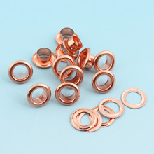 Eyelets Grommets 100sets 4.5mm(hole) Round Grommet Eyelets for Sewing Clothes Leathercraft Eyelets for Shoe/Garment