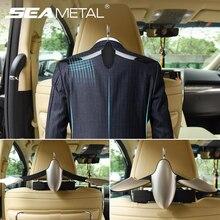Universal Auto Kleiderbügel Zurück Sitz Kopfstütze High End Multi Zweck Auto Haken Anzug Halter für Geldbörse Handtasche einkaufstasche Kleidung