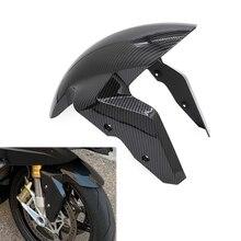 Motorcycle Front Fender Splash For BMW S1000RR S1000S 2009 - 2018 Wheel Hugger Mudguard Splash Guard Mud Dust Guard Carbon Fiber