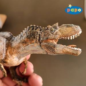Image 2 - פאפו סימולציה דינוזאור בעלי החיים דגם Gorgosaurus ילדי צעצועים