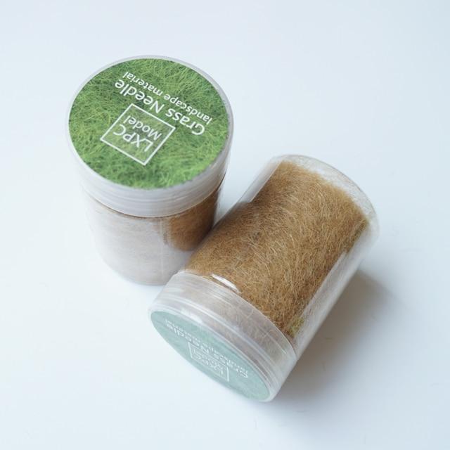 High quality 5mm Grass Tuft Grass needle Grass cluster Model scene scenario transformation material 100ml 6