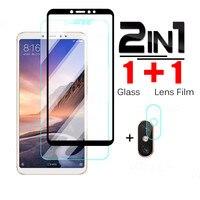 Gehärtetem Glas Für Xiaomi Mi Max 2 3 Schutz Glas Für Xiaomi Mi Mix 2 2S 3 Objektiv Glas film Sicherheit Screen Protector Abdeckung