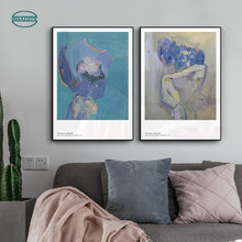 В подарок цветок искусство холст картины стены для спальни украшение