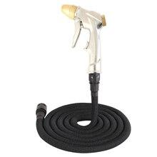 Многофункциональный водяной пистолет высокого давления для мытья автомобиля садовый шланг расширяемый водяной шланг Труба полив распылитель пистолет