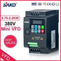 SAKO SKI780 380V 0,75 KW/1,5 KW/2,2 KW Mini VFD Variable Frequency Inverter für Motor Geschwindigkeit control Konverter