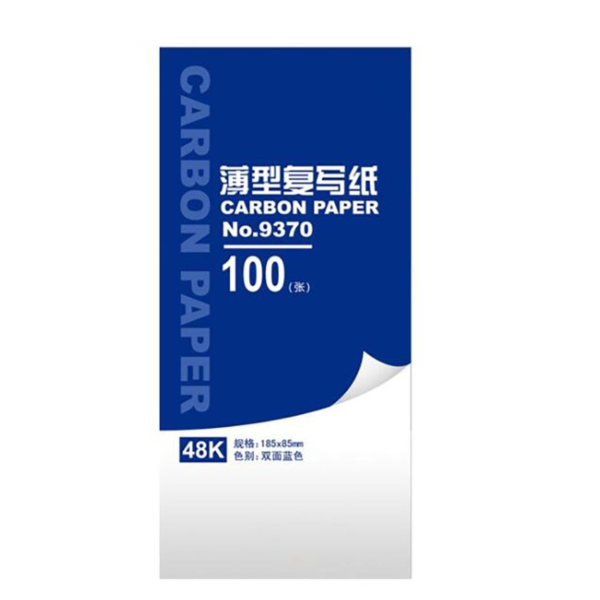 100 Sheets 48K Carbon Paper Portable Office Accounting Finance Copy Receipt Carbon Paper School Stationery Supplies 185*85mm