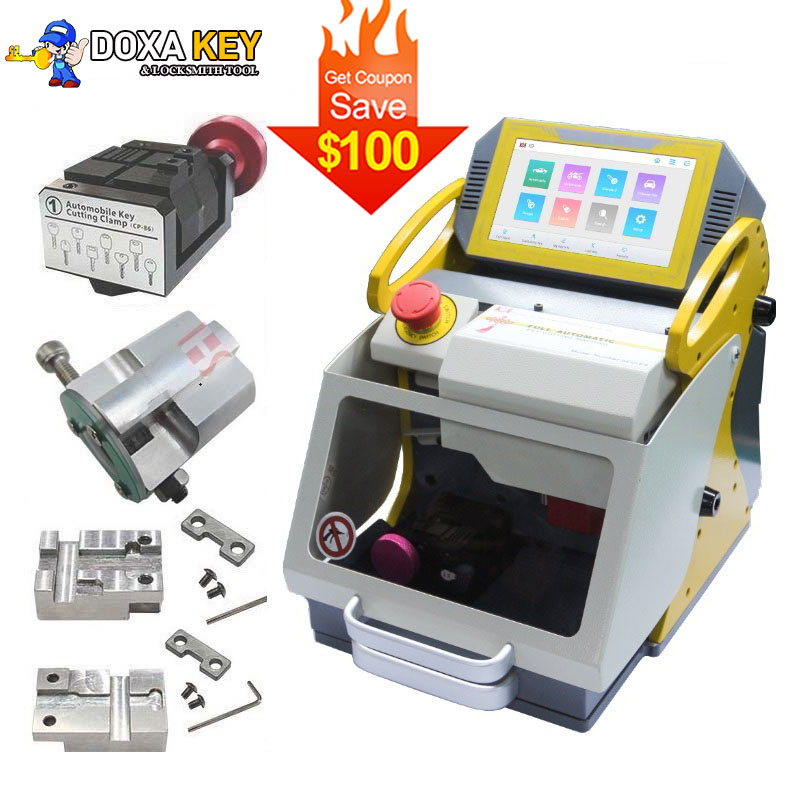 2020 Version SEC-E9 Automatic Car Key Making Machine Laser Key Cutting Machine For Sale Key Duplicator