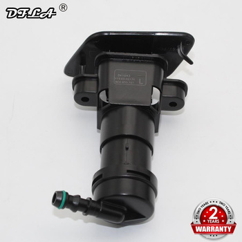 Left Side For Audi A4 B6 S4 Avant 2000 2001 2002 2003 2004 2005 Headlight Washer Lift Cylinder Spray Nozzle Jet + Cover Cap image