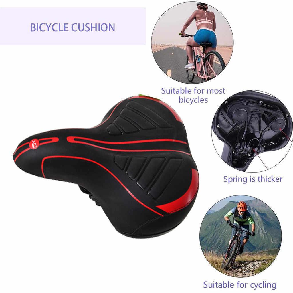 Comfort Bike Saddle Bicycle Seat Cushion Extra Cruiser Cycling Sporty Soft Pad