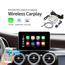 Carplay Nirkabel Android Auto Multimedia Smart Mobil Retrofit untuk Mercedes Benz NTG4.7 GLA Yang GLC C B E CLS GLE GL(China)