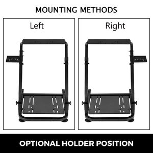 Image 5 - G920 Racing Steering Wheel Stand Shifter Mount fit for G27 G25 G29 Gaming Wheel Stand Wheel Pedals