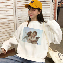 2019 Female Winter Pullover Casual Women Hoodies Sw