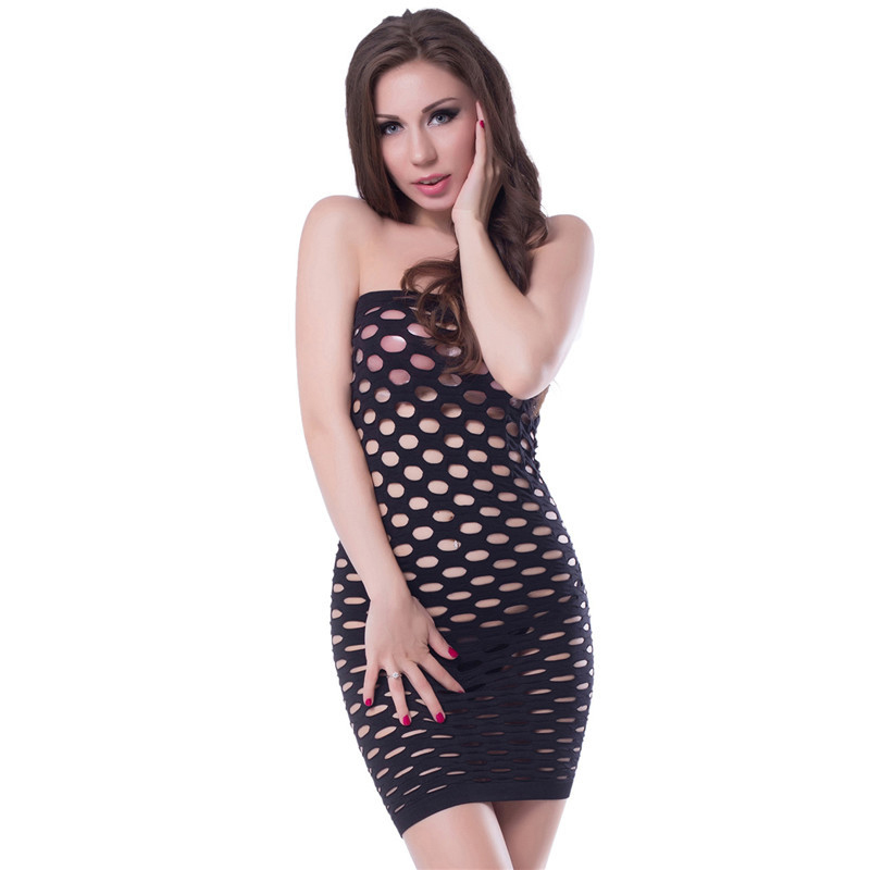 <font><b>2018</b></font> Cotton Lenceria Sexy Lingerie Nightgowns Hot Mesh Baby <font><b>Doll</b></font> Dress Erotic Lingerie For Women <font><b>Sex</b></font> Fishnet Underwear Sleepwear image