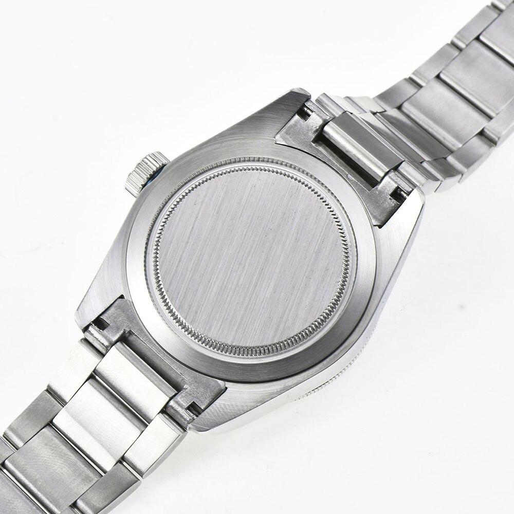 Corgeut 41 мм брендовые Роскошные мужские часы из нержавеющей стали, спортивные светящиеся водонепроницаемые мужские автоматические механичес... - 6