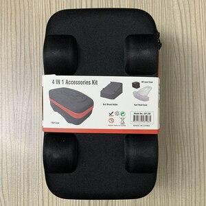 Image 1 - Étui Portable 4 en 1 pour accessoires déquipement électronique, housse de Protection pour Switch NS Mario Kart, sac de rangement