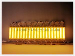 Image 5 - Moduł oświetlenia led wtrysk COB z obiektywem ultradźwiękowy sealling DC12V 2.4W 240lm 75mm X 16mm * 8mm IP65 super jakość 3 lata gwarancji